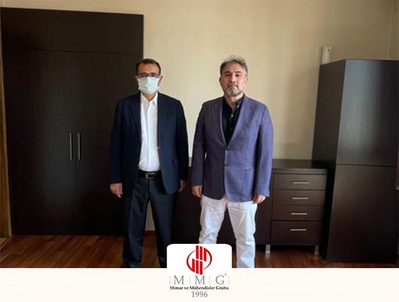 MMG'den Enerji ve Tabii Kaynaklar Bakanı Fatih Dönmez'e Ziyaret