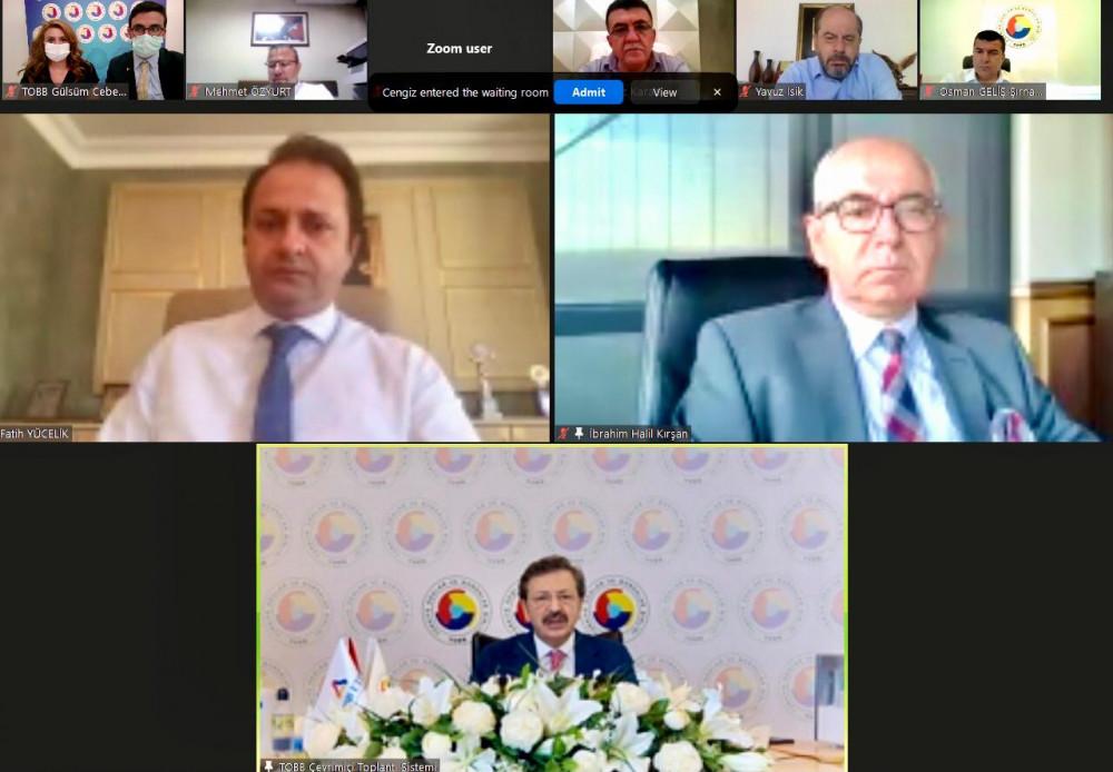 TOBB Türkiye Madencilik Meclisi, Çimento ve Çimento Ürünleri Meclisi ile Ortak Toplantı Yaptı